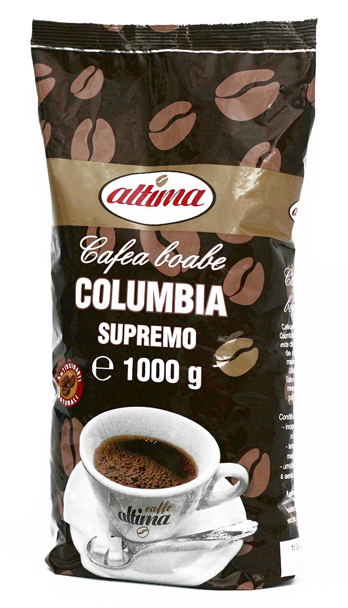 Cafea boabe Columbia Supremo 1kg