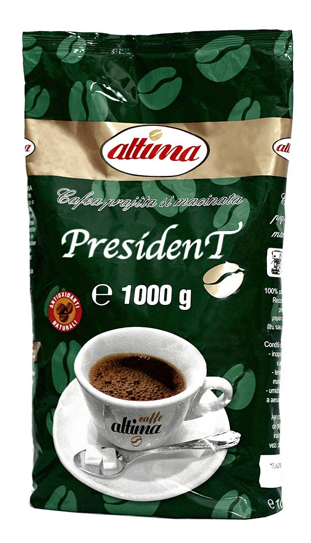 Cafea naturală President 1000g